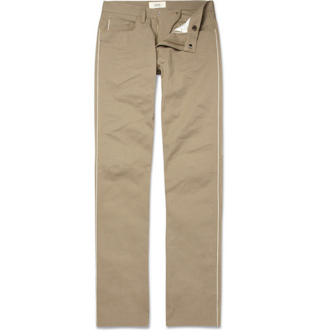 Simon Spurr Straight-Leg Cotton-Twill Jeans