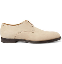 Jimmy Choo Mayfair Nubuck Suede Derby Shoes