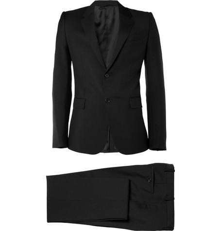 Balenciaga Wool and Mohair-Blend Slim-Fit Suit