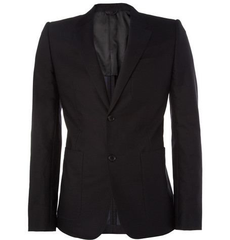 Balenciaga Cotton and Silk-Blend Blazer