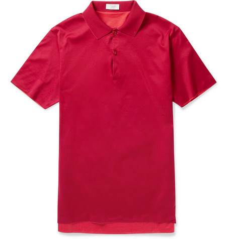 Balenciaga Reversible Slim-Fit Cotton Polo Shirt
