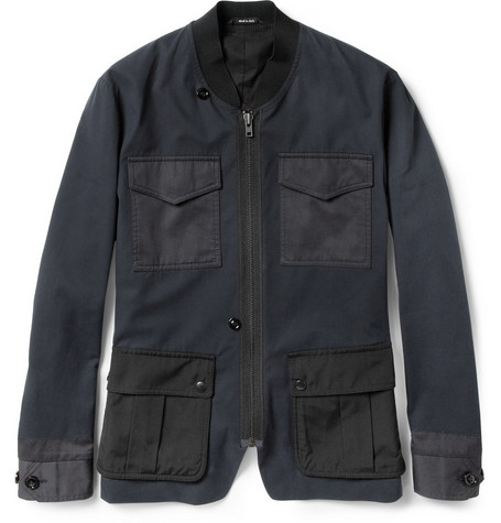 Maison Martin Margiela Slim-Fit Cotton-Twill Field Jacket