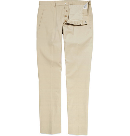 Maison Martin Margiela Slim-Fit Cotton-Twill Chinos
