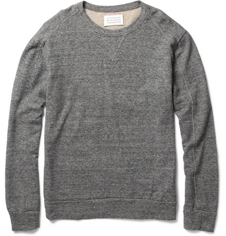 Maison Martin Margiela Lightweight Cotton-Blend Sweatshirt
