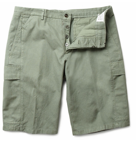 Maison Martin Margiela Cotton-Blend Cargo Shorts