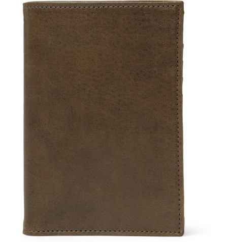 Maison Martin Margiela Leather Travel Wallet