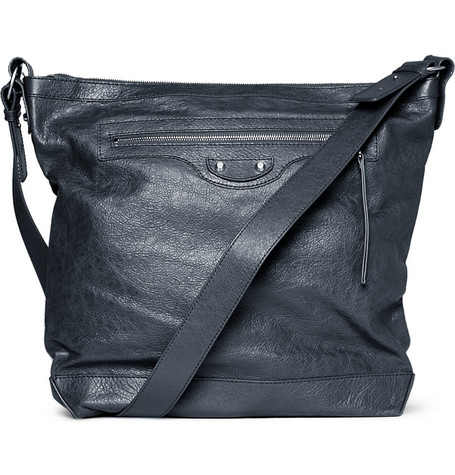 Balenciaga Day Leather Messenger Bag