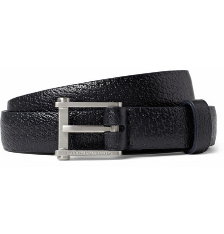Balenciaga Textured-Leather Belt