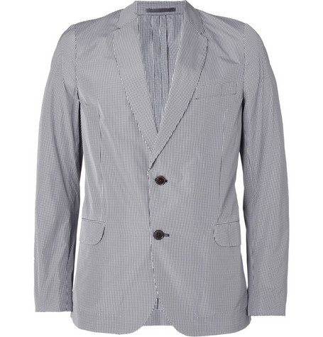 Paul Smith Lightweight Gingham Blazer