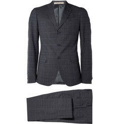 Bottega Veneta Plaid Wool Suit