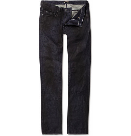 Bottega Veneta Coated Slim-Fit Jeans