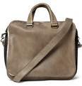 Bottega Veneta Banded Full Grain Leather Tote Bag