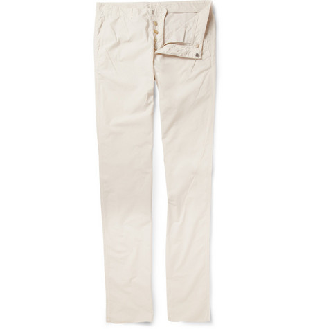 Jil Sander Lightweight Slim-Fit Cotton Trousers