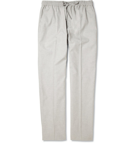 Carven Cotton-Canvas Suit Trousers