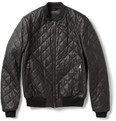 Gucci - Quilted Leather Bomber Jacket