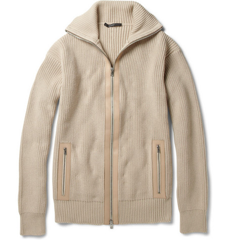 Gucci Chunky-Knit Cotton Cardigan