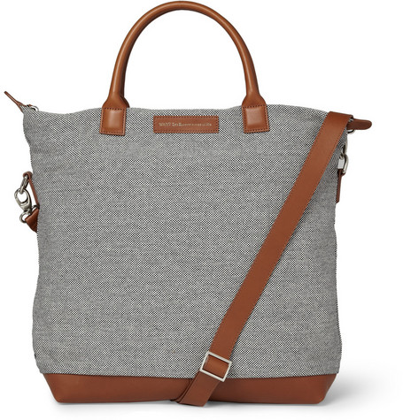 WANT Les Essentiels de la Vie O'Hare Woven-Cotton Tote Bag
