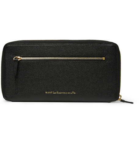 WANT Les Essentiels de la Vie Liberty Leather Travel Wallet