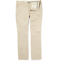 Alfred Dunhill Cotton-Twill Chinos