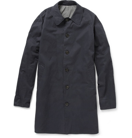 McQ Alexander McQueen Reversible Showerproof Cotton-Blend Coat