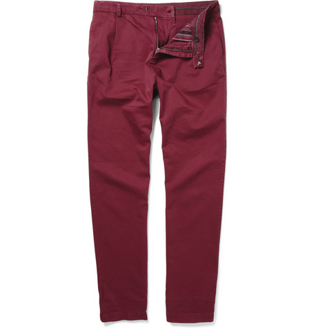 McQ Alexander McQueen Cotton-Twill Chinos