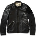 Acne Studios - Oliver Leather and Suede Biker Jacket