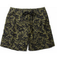 Acne Studios Scout Printed Textured-Cotton Shorts