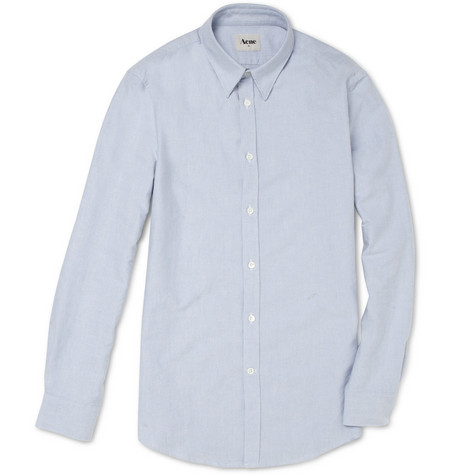 Acne Slim-Fit Cotton Oxford Shirt