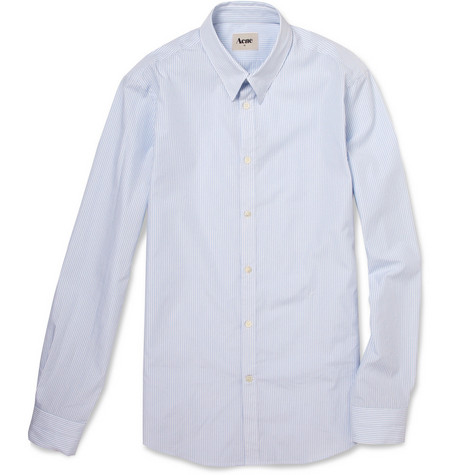 Acne Bengal Stripe Slim-Fit Cotton Shirt