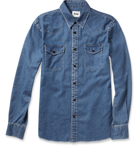 Acne Studios Texas Denim Shirt