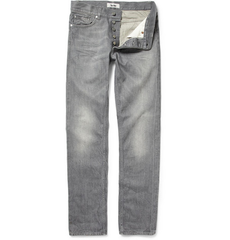 Acne Studios Roc Tarnish Slim-Fit Jeans