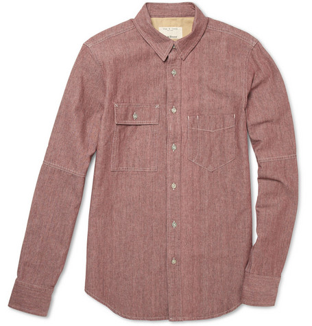 Rag & bone Cotton-Chambray Shirt