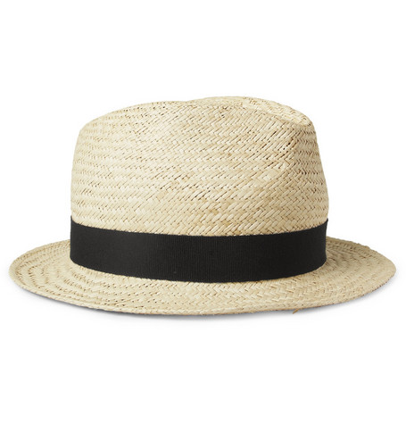 Hartford Straw Trilby Hat