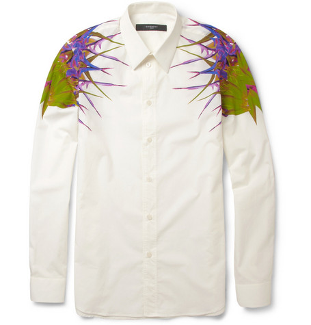 Givenchy Paradise-Print Cotton Shirt