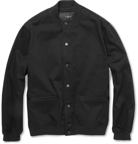 Givenchy Cotton-Twill Bomber Jacket
