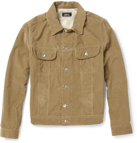 A.P.C. Cotton-Corduroy Jacket