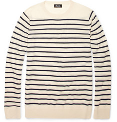 A.P.C. Breton Stripe Wool Sweater