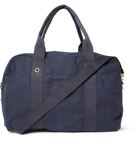 A.P.C. Cotton Canvas Holdall Bag
