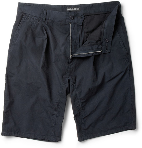 Dolce & Gabbana Cotton Bermuda Shorts