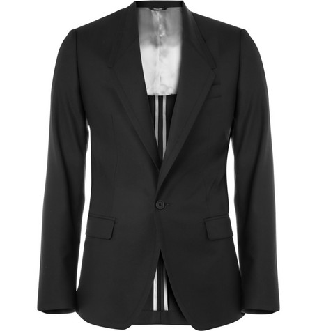 Dolce & Gabbana Slim-Fit Wool and Silk-Blend Blazer