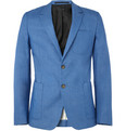 AMI Slim-Fit Cotton Blazer