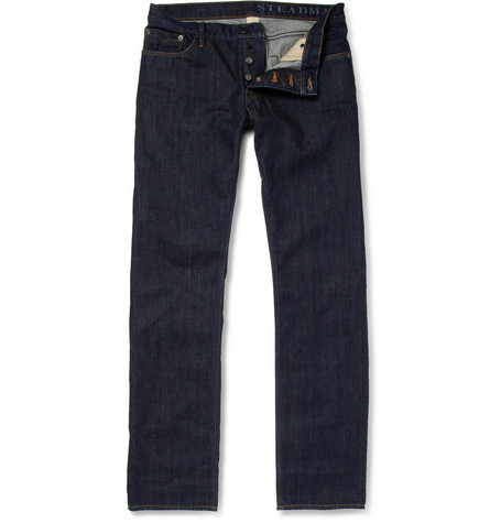Burberry Brit Rinsed Slim-Fit Indigo Jeans