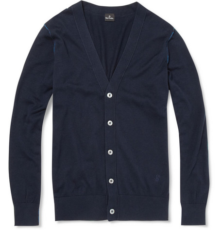 PS by Paul Smith Knitted Cotton Cardigan