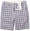 Hartford Check Cotton Shorts