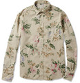 Hartford - Lightweight Hawaiian-Print Cotton Shirt