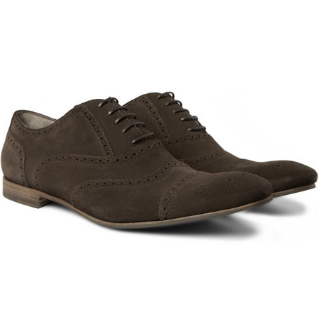 Yves Saint Laurent Classic Suede Brogues