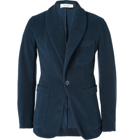 Yves Saint Laurent Cotton Towelling Blazer