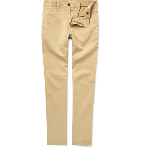 Michael Bastian Stone-Washed Cotton Chinos