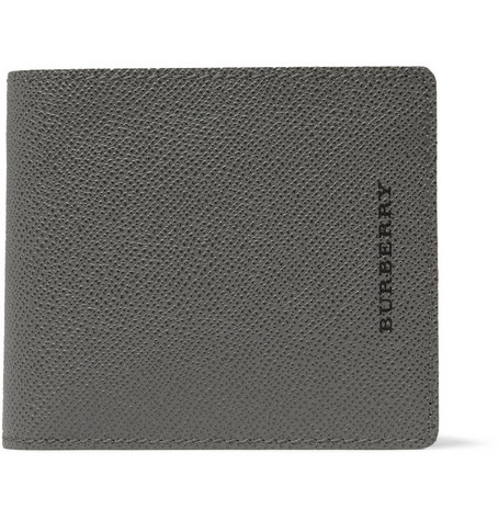 Burberry Shoes & Accessories Cross-Grain Leather Wallet