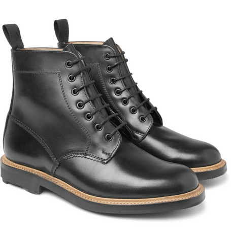 Mark McNairy Leather Lace-Up Boots